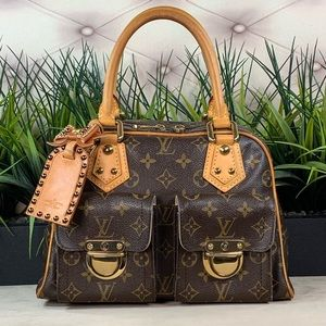 Authenticated Louis Vuitton Manhattan PM